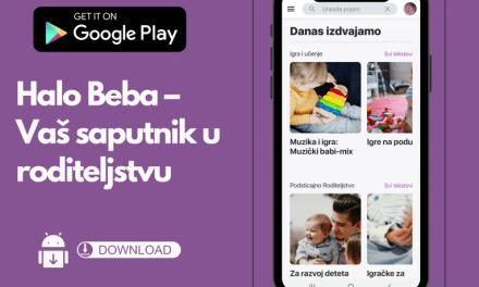 Dostupna aplikacija Halo beba – vaš saputnik u roditeljstvu