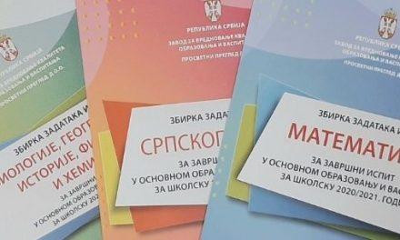 Zbirke za pripremu završnog ispita izašle iz štampe