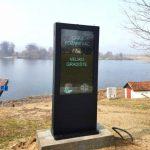 Turisti će se na Srebrnom jezeru informisati putem interaktivne turističke table
