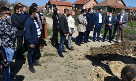 Počeli radovi na fekalnoj kanalizaciji u Kostolcu u naselju Kanal