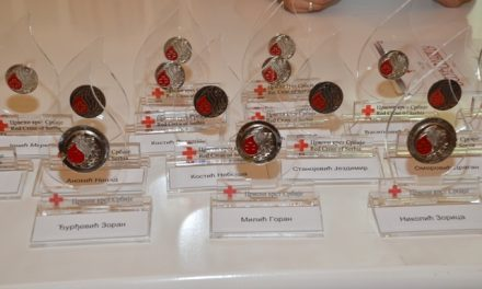 Crveni krst Veliko Gradište dodelio priznanja dobrovoljnim davaocima krvi