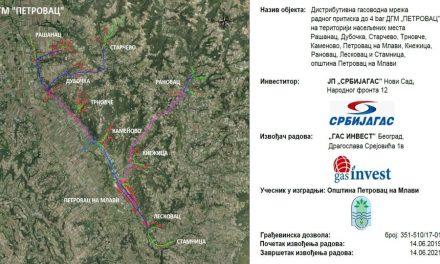 Petrovac na Mlavi: Počinje ispitivanje gasovodne mreže