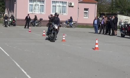 Manifestacija na temu bezbednosti vozača motocikala u opštini Malo Crniće
